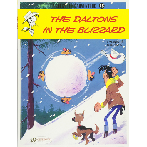 Lucky Luke Vol.15: The Daltons in the Blizzard (Paperback)