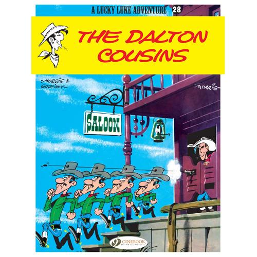 Lucky Luke Vol.28: The Dalton Cousins (Paperback)
