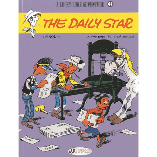 Lucky Luke Vol.41: The Daily Star (Paperback)