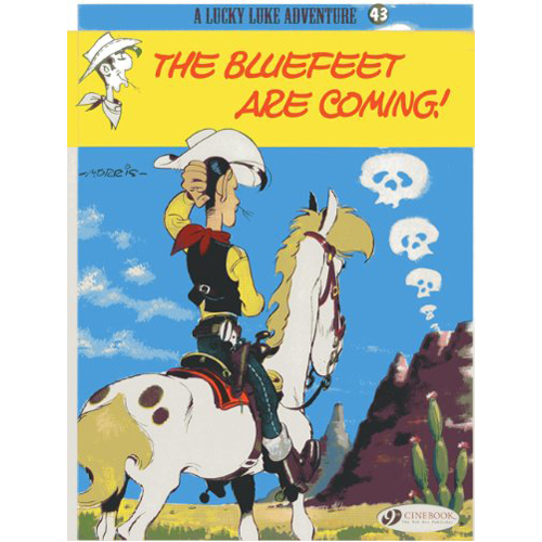 Lucky Luke Vol.43 The Bluefeet are Coming! (Paperback)