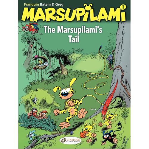 Marsupilami Vol. 1: the Marsupilamis Tail (Paperback)
