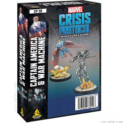 Marvel Crisis Protocol: Captain America and War Machine