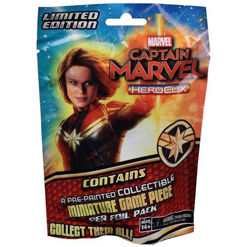 Marvel HeroClix: Captain Marvel Movie Booster Pack