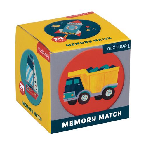 Mudpuppy Mini Memory Game: Transportation
