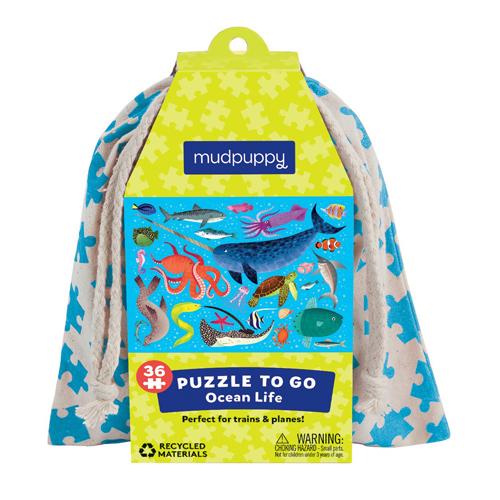 Mudpuppy Puzzle To Go: Ocean Life