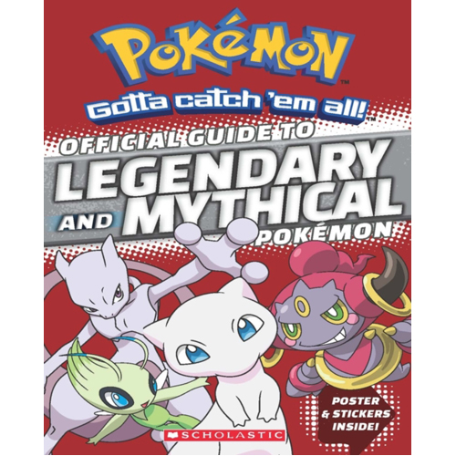 Official Guide to Legendary and Mythical Pokemon