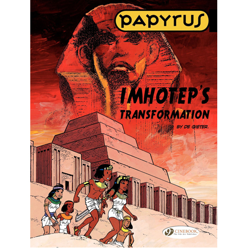 Papyrus Vol.2: Imhotep's Transformation (Paperback)