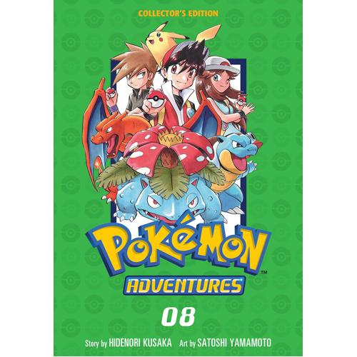 Pokemon Adventures Collector's Edition, Vol. 8