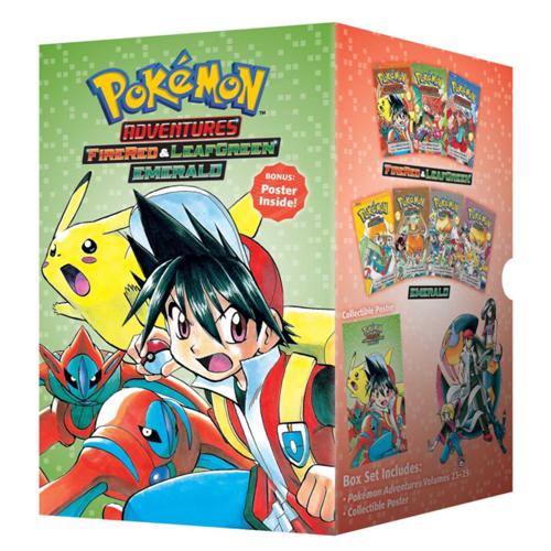Pokemon Adventures FireRed & LeafGreen / Emerald Box Set : Includes Vols. 23-29