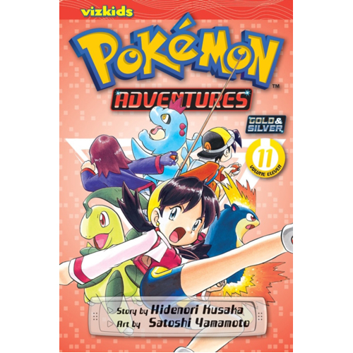 Pokemon Adventures (Gold and Silver), Vol. 11 : 11