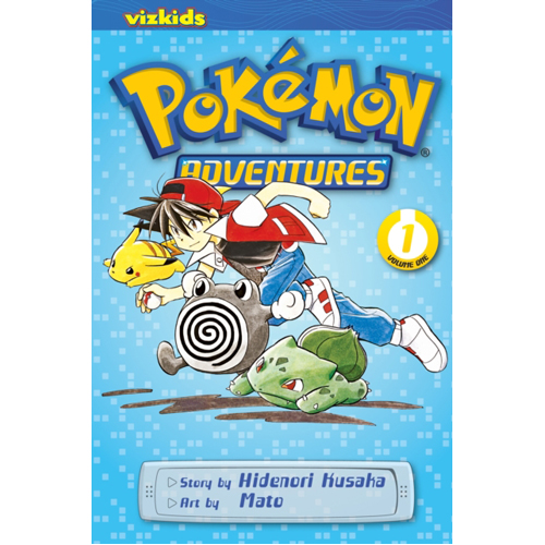 Pokemon Adventures (Red and Blue), Vol. 1 : 1