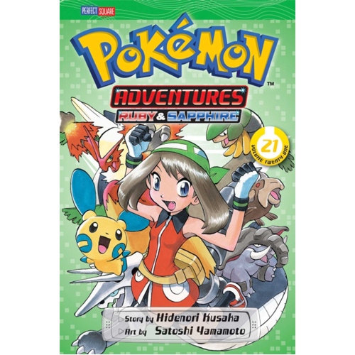 Pokemon Adventures (Ruby and Sapphire), Vol. 21 : 21