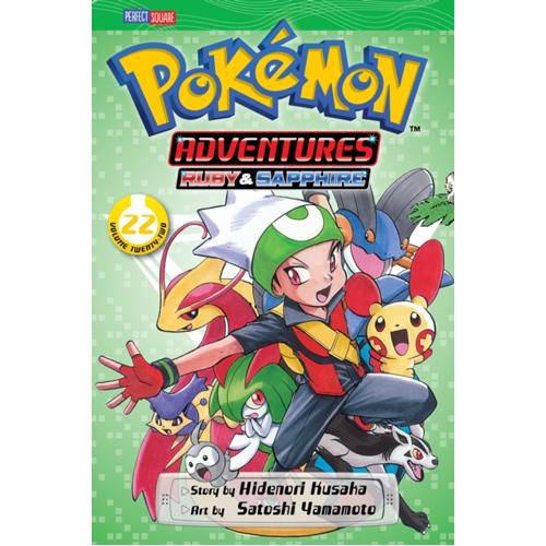 Pokemon Adventures (Ruby and Sapphire), Vol. 22 : 22