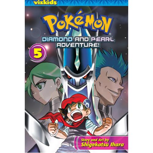 Pokemon Diamond and Pearl Adventure!, Vol. 5