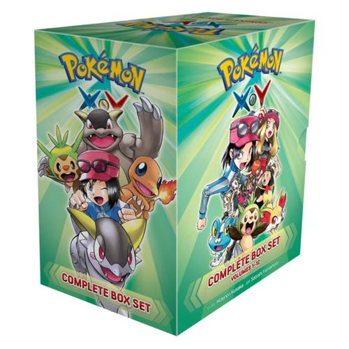 Pokemon X*Y Complete Box Set : Includes vols. 1-12