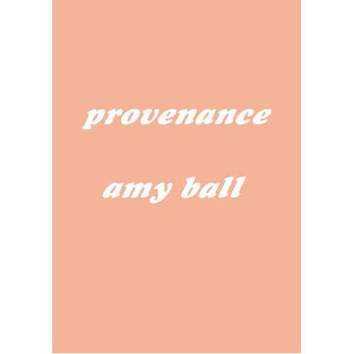 Provenance (Paperback)