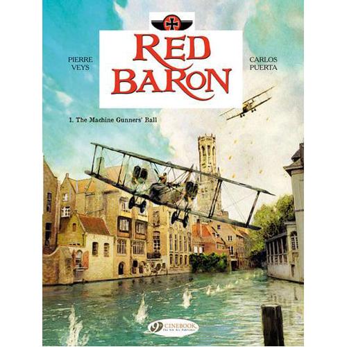 Red Baron, Vol. 1: The Machine Gunners' Ball (Paperback)