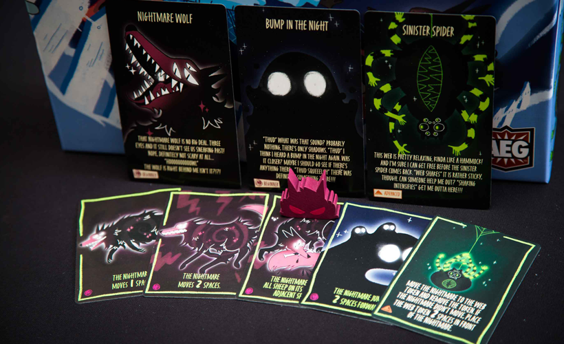 Sheepy Time Nightmare Cards