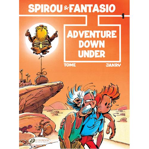 Spirou & Fantasio - Volume 1: Adventure Down Under (Paperback)