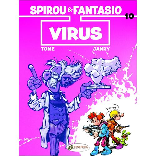 Spirou & Fantasio - Volume 10: Virus (Paperback)
