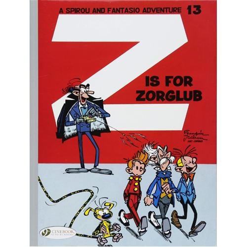 Spirou & Fantasio - Volume 13: Z is for Zorglub (Paperback)