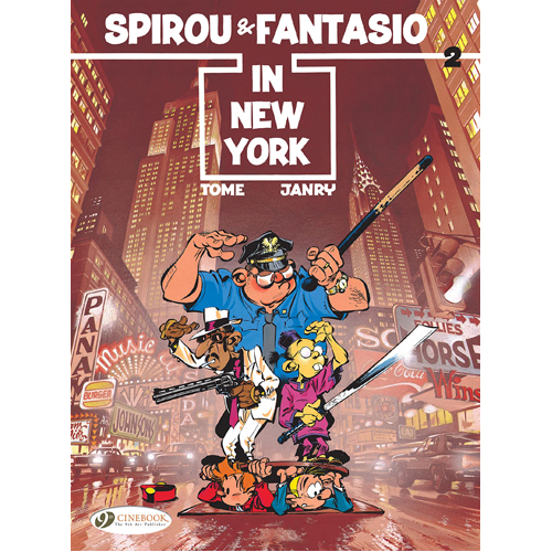 Spirou & Fantasio - Volume 2: Spirou & Fantasio in New York (Paperback)
