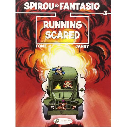 Spirou & Fantasio - Volume 3: Running Scared (Paperback)
