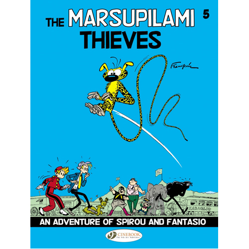 Spirou & Fantasio - Volume 5: The Marsupilami Thieves (Paperback)