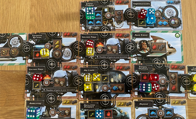 Steampunk Rally Fusion Cards