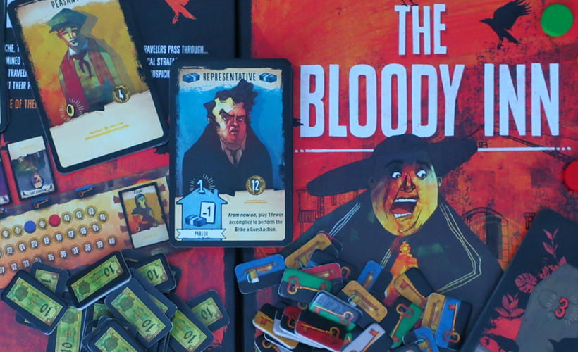 The Bloody Inn Components