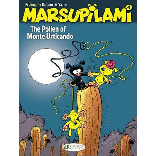 The Marsupilami Vol. 4: The Pollen of Monte Urticando (Paperback)