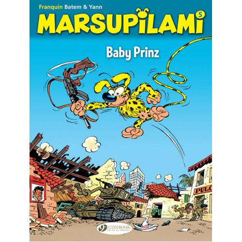 The Marsupilami Vol. 5: Baby Prinz (Paperback)