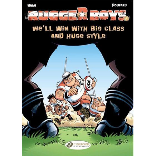 The Rugger Boys Vol.2: We'll Win with Big Class and Huge Style (Paperback)