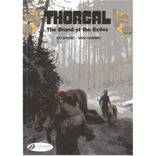Thorgal Vol. 12: The Brand of Exiles (Paperback)
