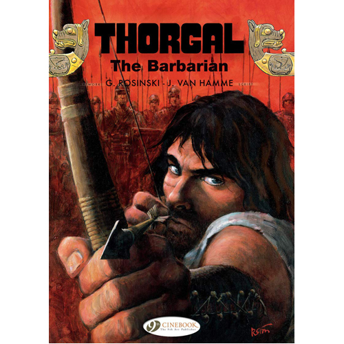 Thorgal Vol. 19: The Barbarian (Paperback)