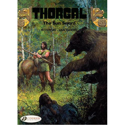 Thorgal Vol.10: The Sun Sword (Paperback)