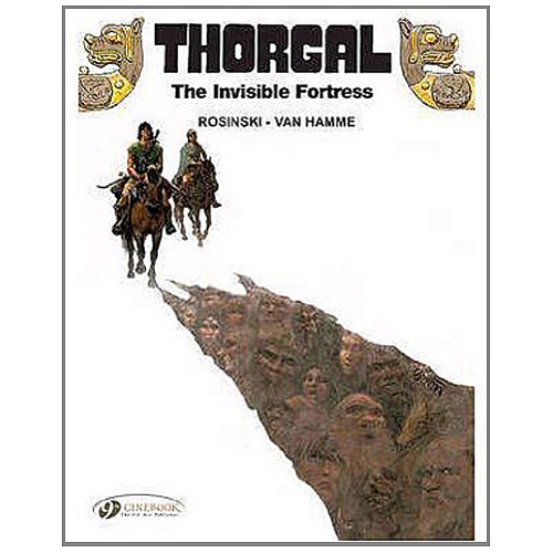 Thorgal Vol.11: The Invisible Fortress (Paperback)