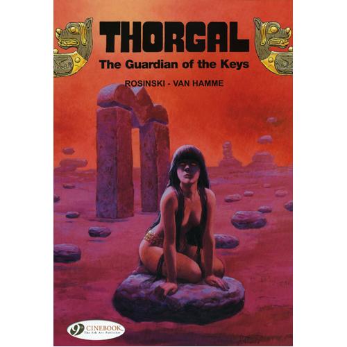 Thorgal Vol.9: The Guardian of the Keys (Paperback)