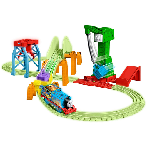 Trackmaster Motorised Night Glow Delivery Play Set