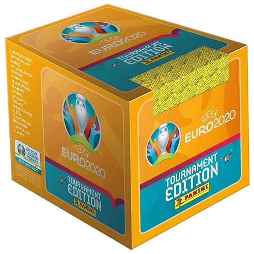 UEFA Euro 2020 Sticker Collection - 100 Packs