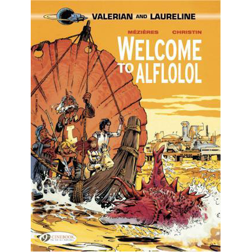 Valerian Vol.4: Welcome to Alflolol (Paperback)