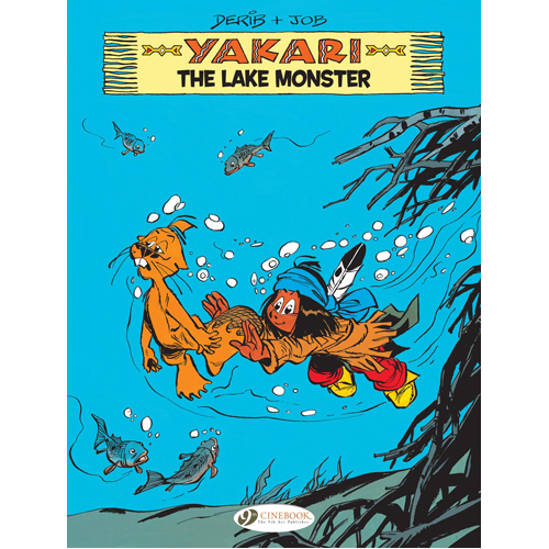 Yakari Vol. 16: The Lake Monster (Paperback)