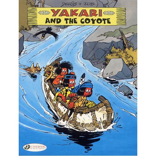 Yakari Vol.9: Yakari and the Coyote (Paperback)