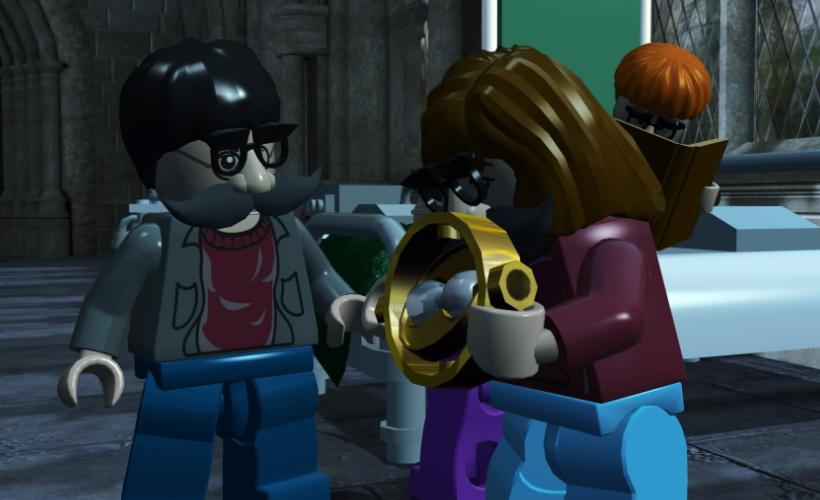 lego harry potter the trio