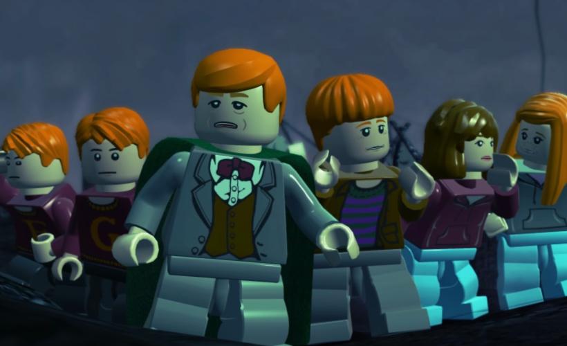 lego harry potter weasleys