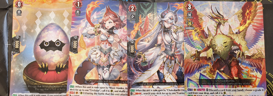 overDress Holy Dragon Feature Cards