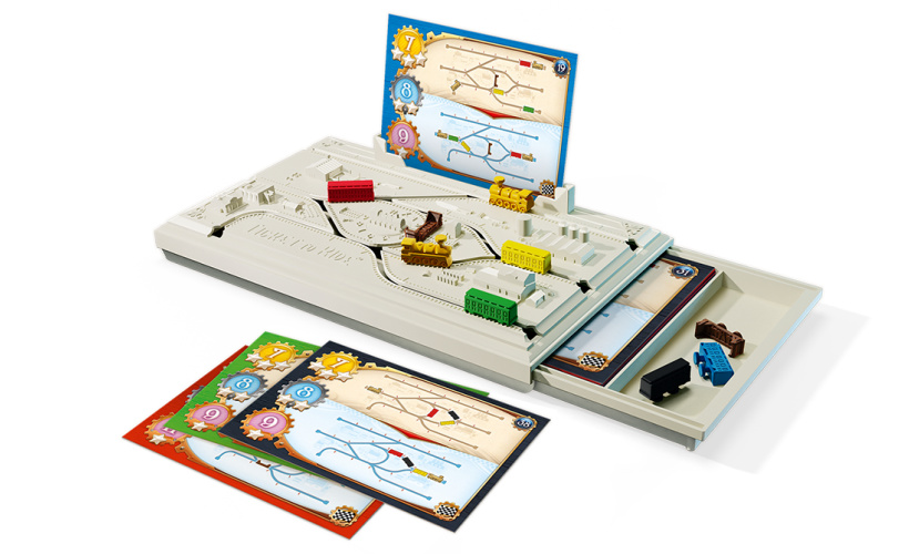 ticket to ride track switcher layout