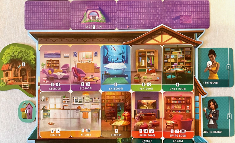 156 Sunny Street Dream Home Expansion Cards