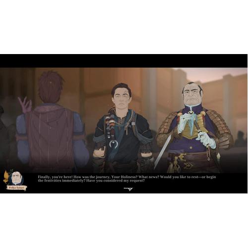 Ash of Gods: Redemption - Nintendo Switch - Gameplay Shot 1