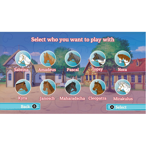 Bibi & Tina: At The Horse Farm - Nintendo Switch - Gameplay Shot 2